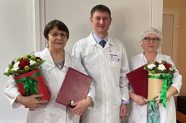 Врачи тюменского офтальмологического диспансера получили высокие награды