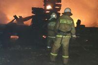За первую декаду января в Тюменской области зарегистрировано 80 пожаров