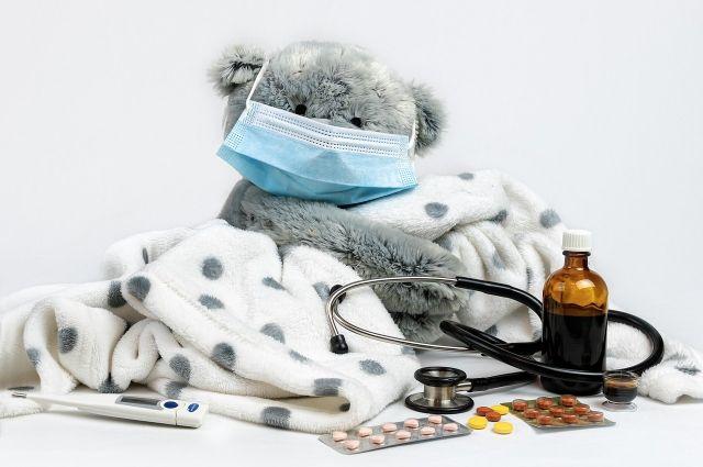 В Тюменской области за сутки еще восемь детей заболели коронавирусом