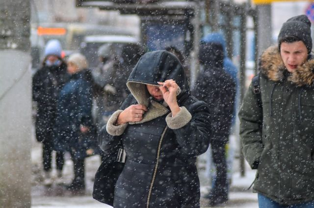 В Оренбургской области 12 января сохранится снежная погода.