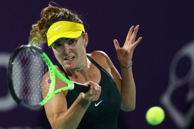 Теннис: Свитолина не смогла пройти в полуфинал турнира в Абу-Даби.