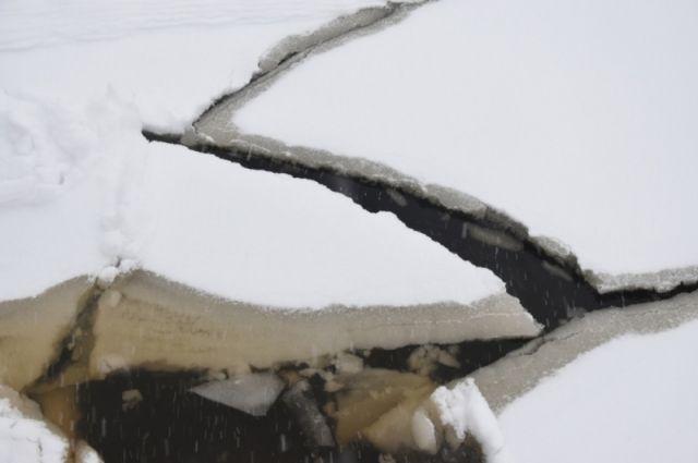 В Тюменской области на ряде объектов не было знаков о запрете выхода на лед