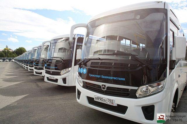 Из-за ремонта развязки в Уфе на одном маршруте увеличили число автобусов