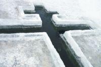 К окунанию в ледяную воду необходимо подготовиться
