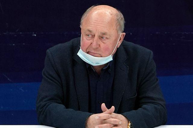Легендарный советский и российский тренер Алексей Мишин.