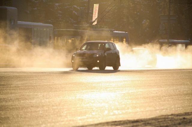 В Новосибирскую область опять вернулись сильные морозы