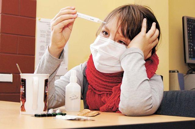 По данным специалистов эпидемический порог не был достигнут.