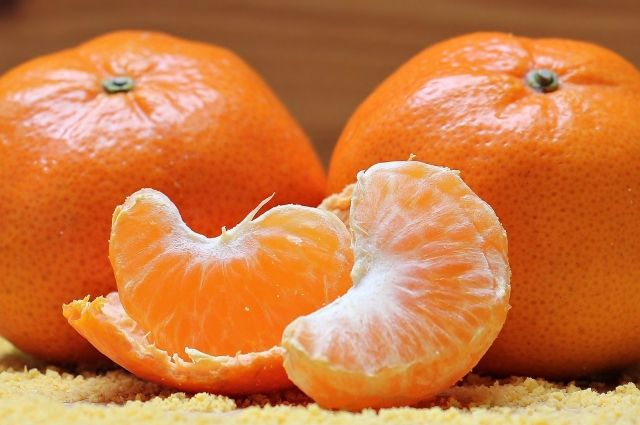 После новогодних праздников тюменцы выбросили тонны мандариновой кожуры
