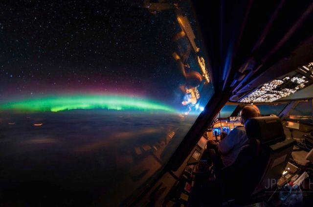Виды из кабины самолета, которые не увидит обычный человек
