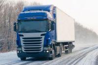 Из-за ухудшения погодных условий в Харьков запретили пропускать фуры.