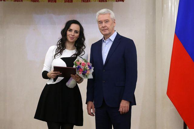 Вручение премий журналистам Москвы