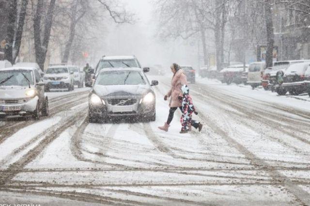 Погода на 14 января: в северных и западных областях пройдет снег