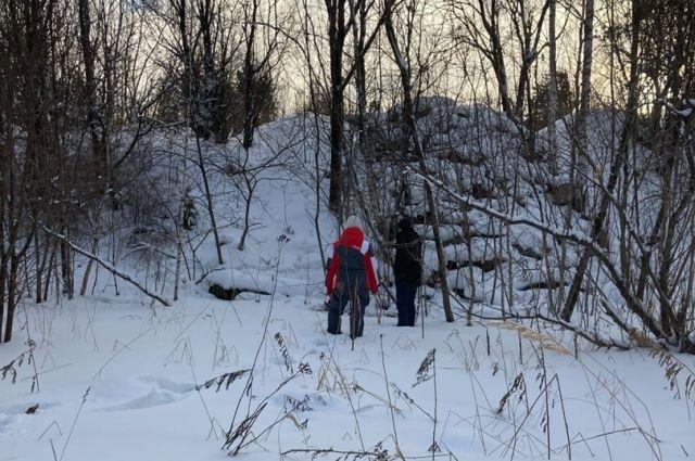 Бабушка пропала 10 января, нашли в лесу через трое суток.