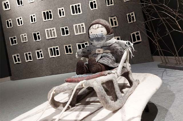 Воскресенье – последний день работы выставки известного российского художника Ирины Андреевой «Притяжение зимы».