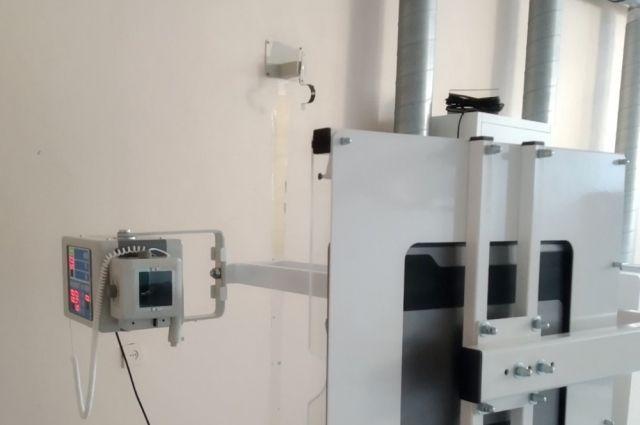 В больницу Тюменской области поступил универсальный рентген-аппарат