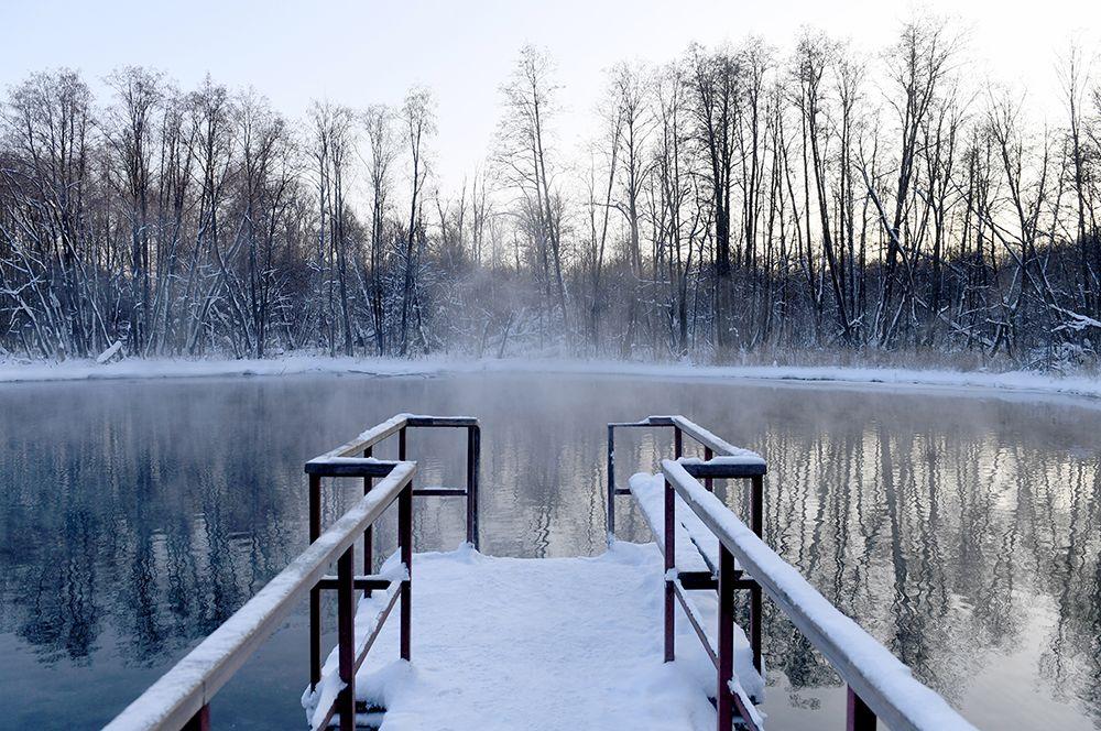 Природный заповедник «Голубые озера» в Татарстане.
