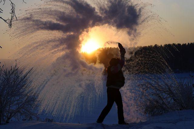 Зима в регионах России
