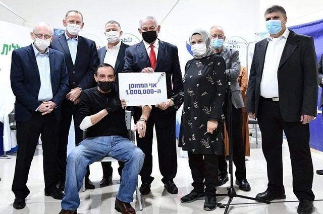 Джабарин Мухаммад из Умм аль-Фахм стал 1,000,000-м израильтянином, получившим вакцинацию от COVID19!