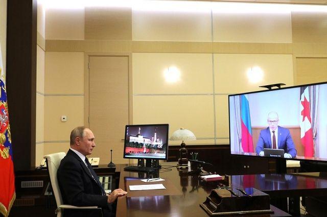 Глава Удмуртии ответил на вопросы президента РФ