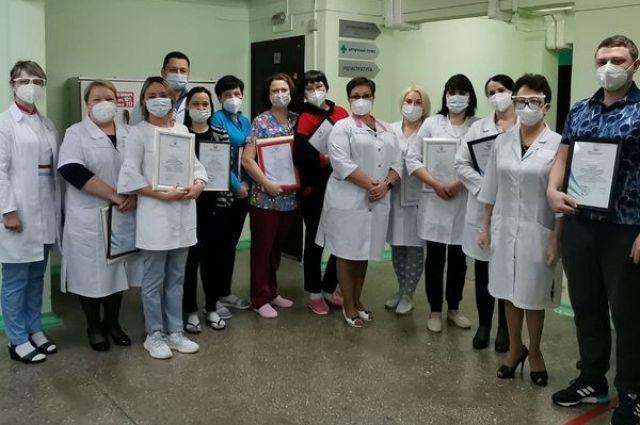 Во «вторую волну» в больнице прошли лечение 584 пациента.