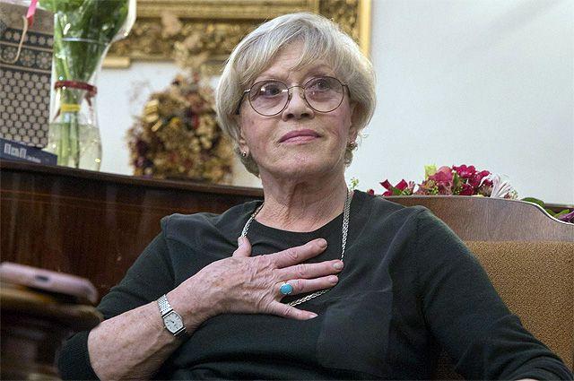 Алиса Фрейндлих находится в больнице уже 22 дня.