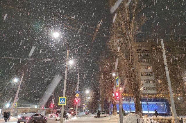 В ночь на 16 января в Оренбургской области начнется сильный снегопад.