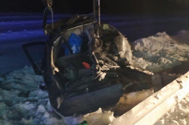 Двое детей погибли в ДТП на трассе «Ижевск - Сарапул»