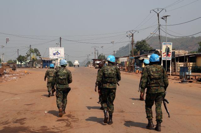 Миротворец ООН погиб в результате нападения в ЦАР
