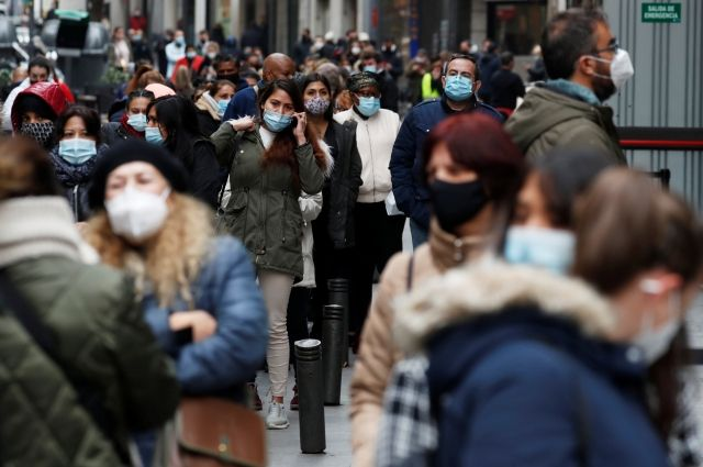 В Испании за сутки выявили рекордные 40 197 новых заболевших коронавирусом