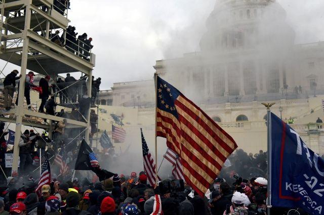 В США рассказали о планах участников штурма Капитолия убить конгрессменов