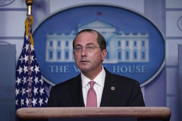 Глава Минздрава США подал в отставку после беспорядков в Вашингтоне
