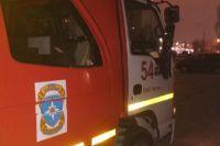 Мужчина погиб при пожаре в квартире Калининского района Новосибирска.