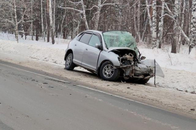Водитель грузовика не успел среагировать