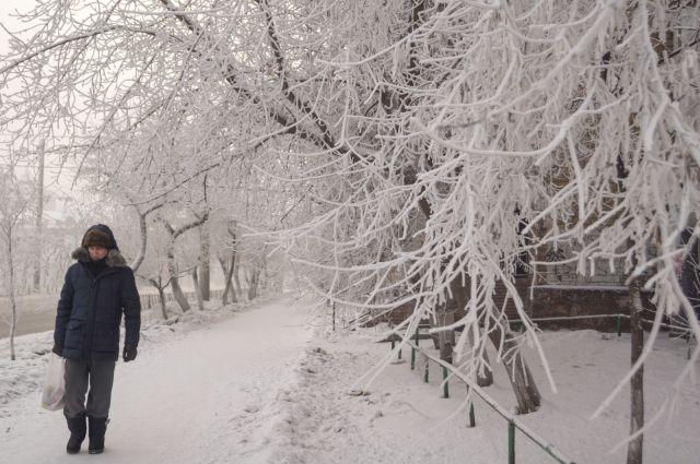 В середине недели в Красноярск вернутся морозы.