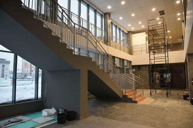 Здание спроектировано с учетом сейсмических особенностей региона.