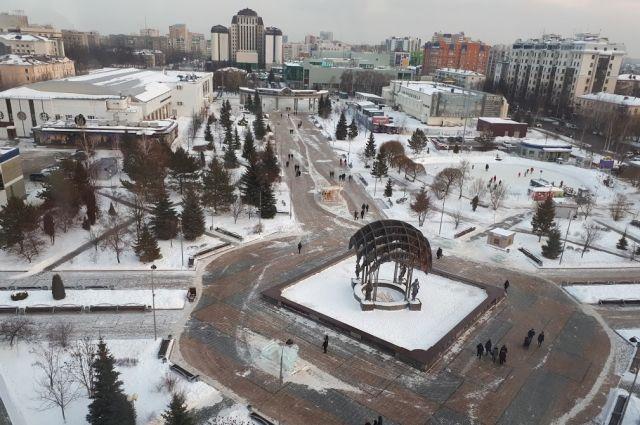 В Тюмени к концу недели прогнозируют 30-градусные морозы