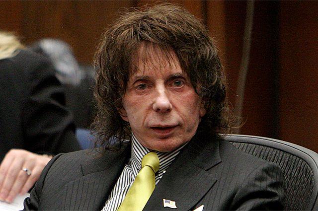 ФИл Спектор в зале суда, 2008 г.