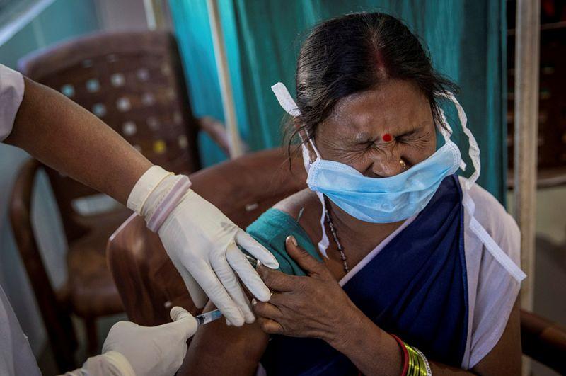 Вакцинация в штате Одиша.