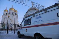 Сотрудники надзорной деятельности во время праздничных богослужений обеспечат пожарную безопасность в православных храмах.