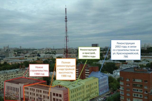 Здание ПРОМЭКТа перестраивали и достраивали с 60-х годов прошлого века до начала нулевых.