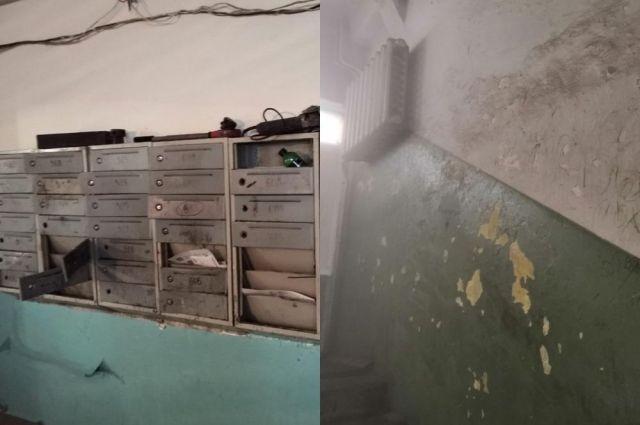 Тюменская УК отремонтирует подъезд после жалобы в Госжилинспекцию