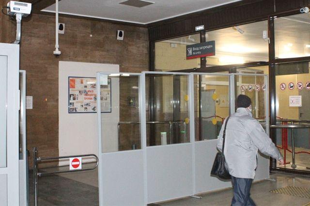 На Южном вокзале меряют температуру дистанционно