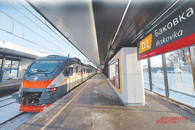 От Баковки до ближайшей станции метро ехать всего 20 минут.