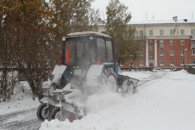 За уборку снега на улицах города отвечает муниципалитет.