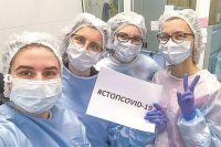 Студенты сегодня взрослеют на передовой борьбы с коронавирусом.