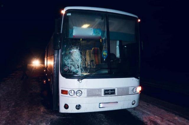 В Ивано-Франковской области автобус сбил пешехода: мужчина умер в больнице