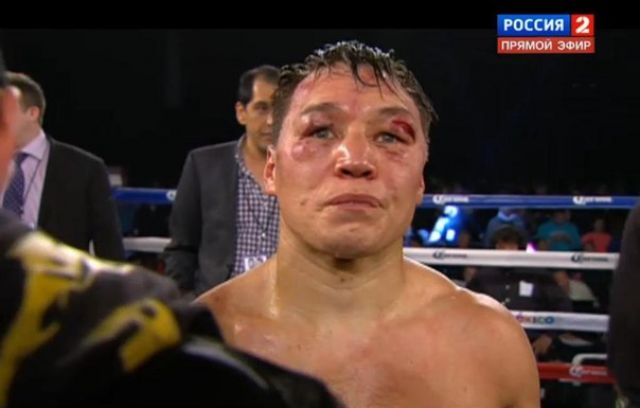 Экс-чемпион мира по боксу, а ныне депутат Думы Югры Руслан Проводников