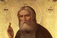В Никольском соборе Оренбурга впервые вынесли для поклонения мощи преподобного Серафима Саровского.