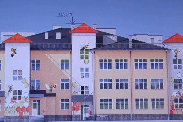 На улице Коммунистической построят новый корпус детского сада №114