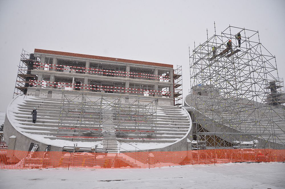 Общая площадь спортивного сооружения увеличится в 5 раз – с 1,9 до 9,7 тыс. кв.м.